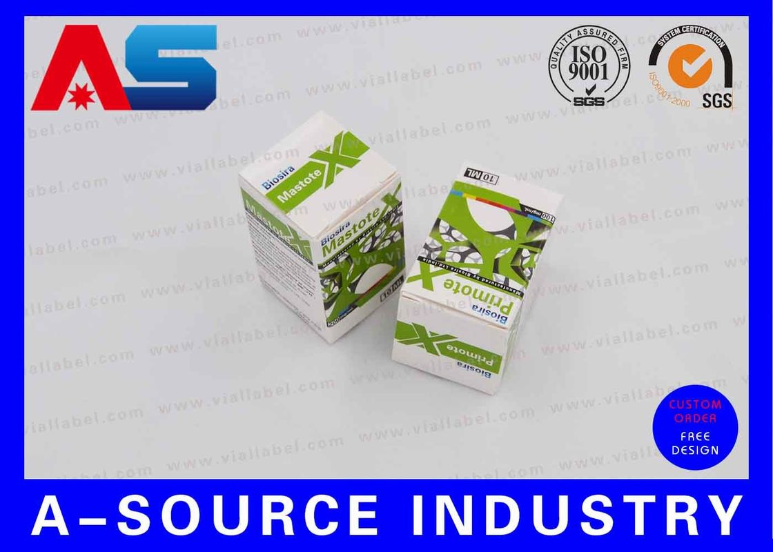 Muscle Growth Steroids Pharmacy 10ml Vial Boxes for Packaging Biosira Steroids